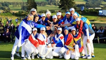 The 2019 Solheim Cup - the winning European Team