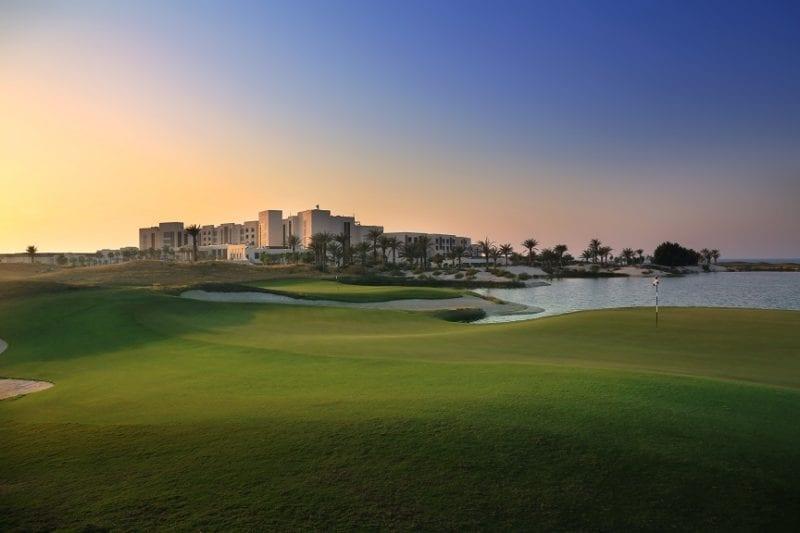 Saadiyat Beach Golf Club 9th &18th golf club management