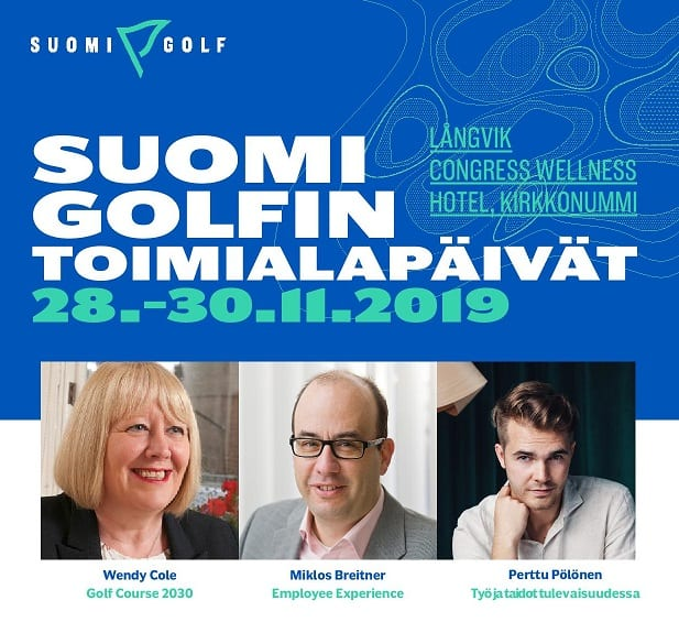Finnish Golf Club Managers Association Conference 2019 employee experience