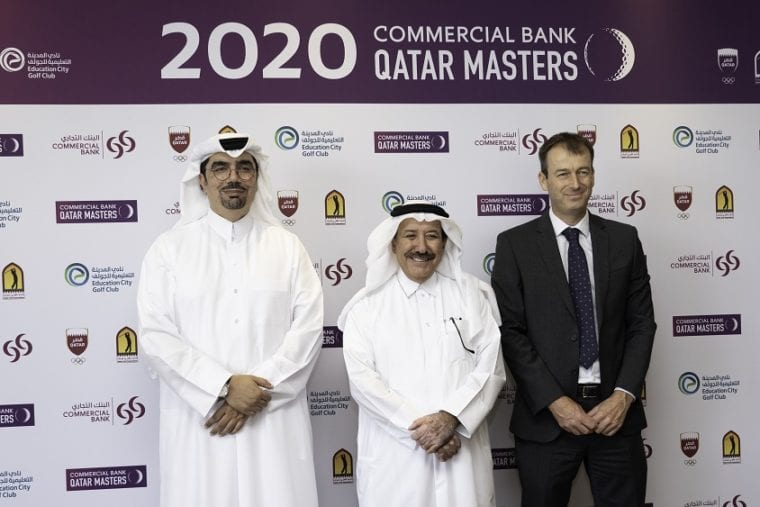 Signing Ceremony 2020 Commercial Bank Qatar Masters