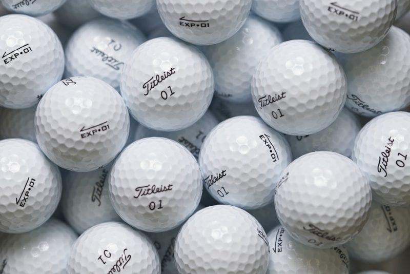 Titleist EXP01 golf balls