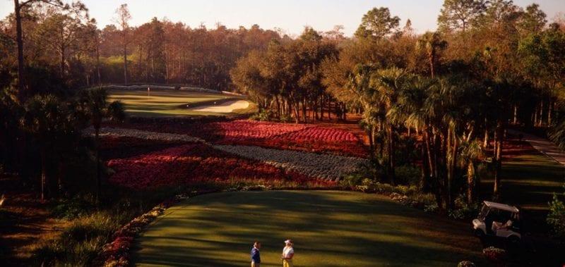Golf Course-Quail West private golf club