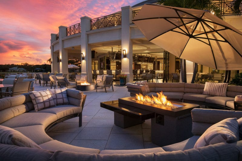 Quail West -Grille-Outdoor-Living private golf clubs