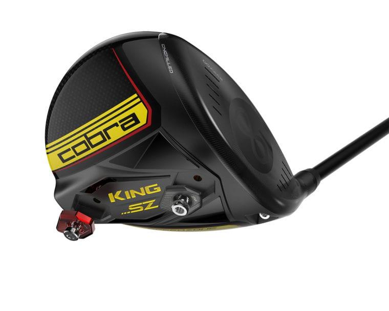 Cobra Golf SpeedZone driver and its weights