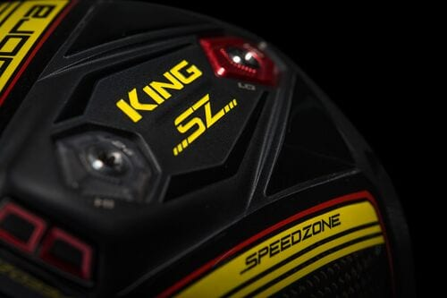 Cobra Golf SpeedZone driver close look from the bottom