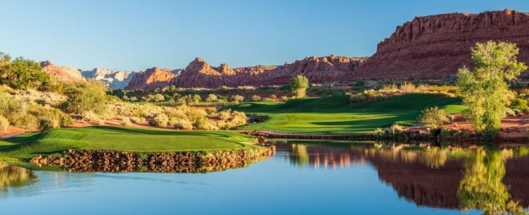 Entrada at Snow Canyon Country Club by Brian Oar