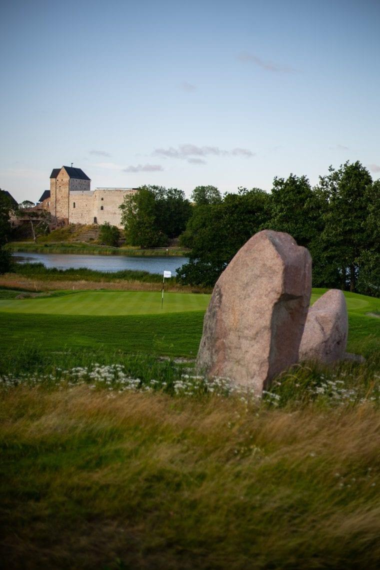 Ålands Golfklubb 14th century castle