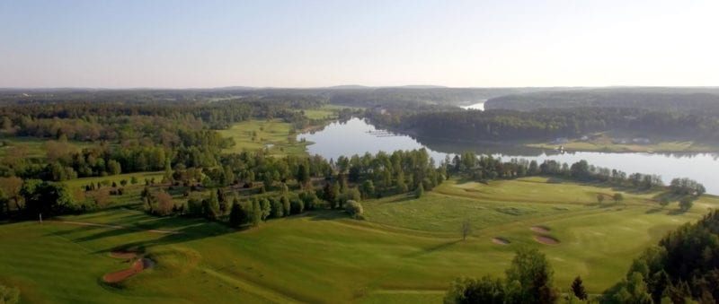 Ålands Golfklubb as it was before the golf course renovation