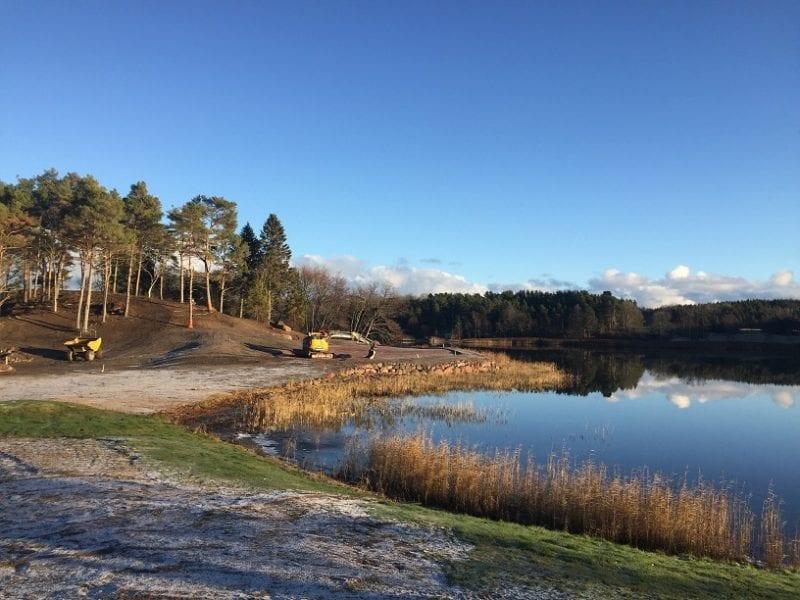 Ålands Golfklubb golf course redesign in progress