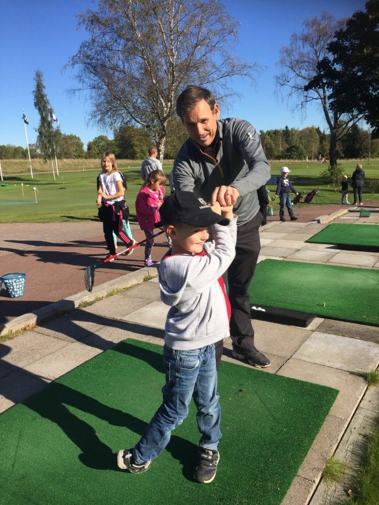 Ålands Golfklubb junior golf lesson