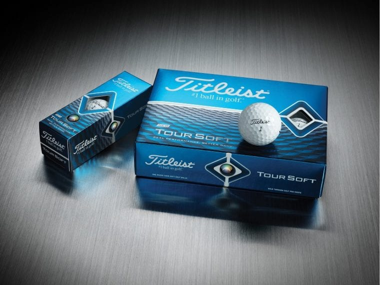 2020 Titleist Tour Soft golf balls-dozens and sleeve-group