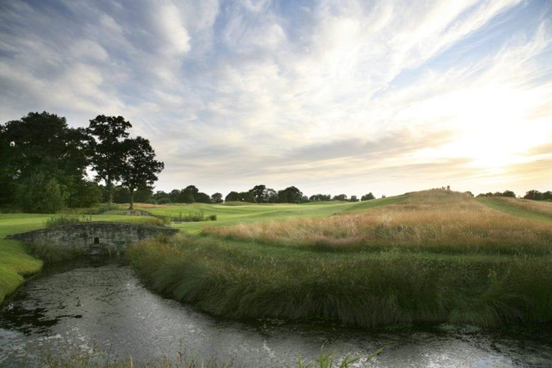 8th hole 439yds Par 4 Chart Hills Golf Club