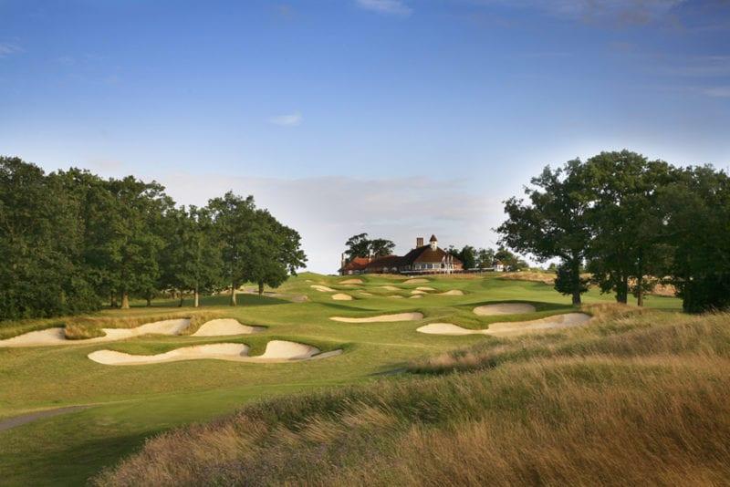 9th Hole 365yds Par 4 Chart Hills Golf Club
