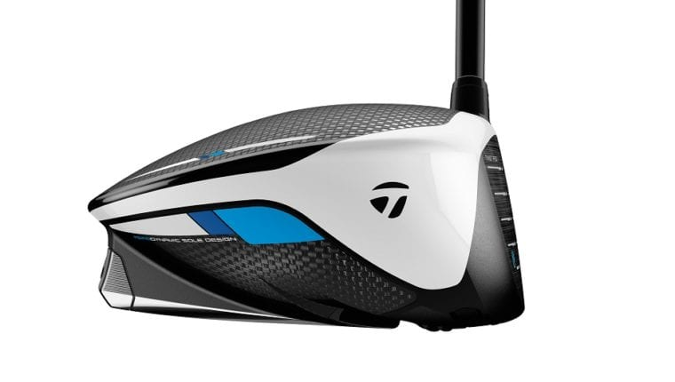 TaylorMade SIM driver toe from the side