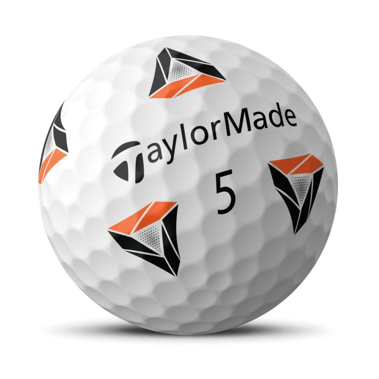TaylorMade TP5 pix golf ball by Rickie Fowler