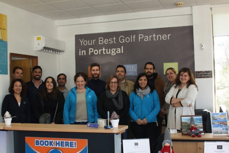Tee Times Golf Agency workers golf tourists