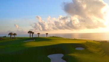 The Club at Hammock Beach at sunset