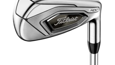 Titleist T400 irons head close look