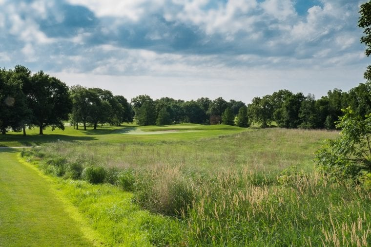 Finkbine Golf Course 8th hole