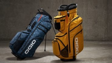 OGIO SE Golf Bags Ship Sticks cooperation
