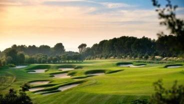 Real Club de Golf El Prat golf course and La Mola