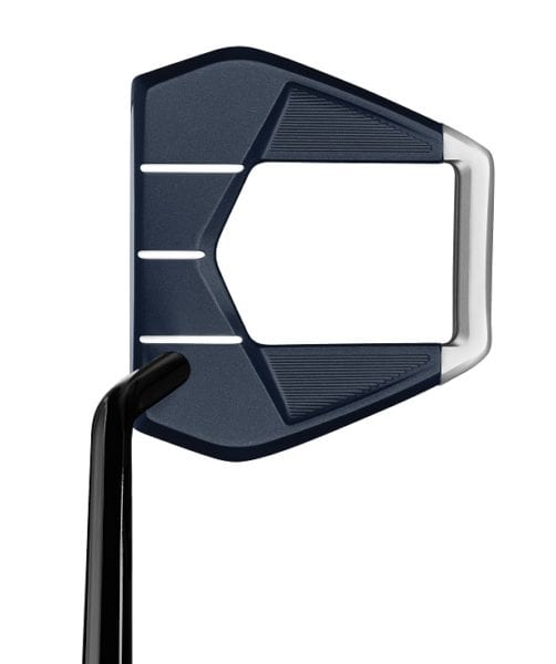 TaylorMade Spider S putter Navy-from above view
