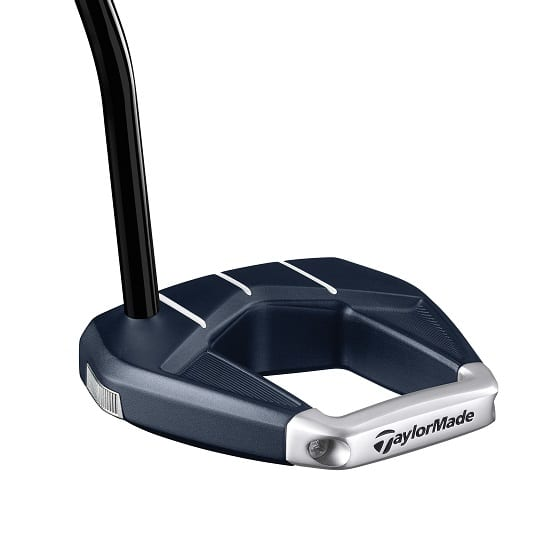 TaylorMade Spider S putter Navy-from the back