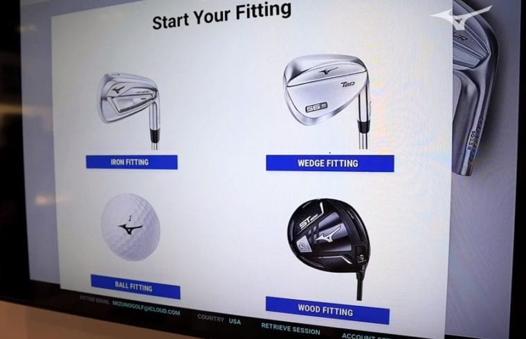 Mizuno Shaft Optimizer for clubs and balls in 2020