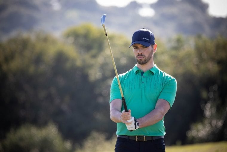PING SS2020 Men's Performance Apparel Collection with sensor technology