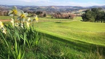 5th Green - April 2020 Peebles Golf Club coronavirus crisis