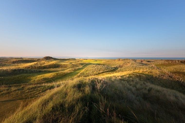 5th hole at Royal St George's Golf Club