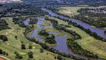 Langston Golf Course first opened in 1939 National Links Trust