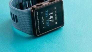 Shot Scope V3 watch in blue