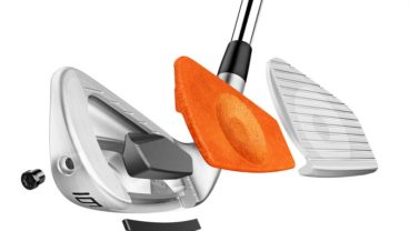 TaylorMade Golf P770 iron tech photo
