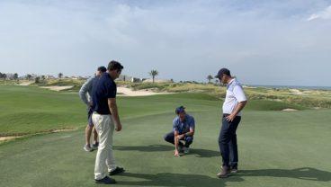 golf course agronomy spending optimization
