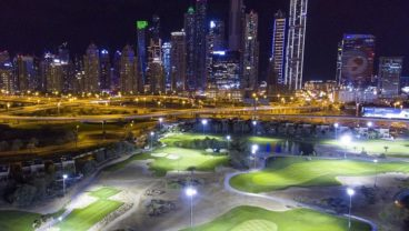 OMEGA Dubai Moonlight Classic - Faldo design