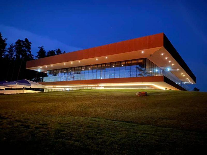 Pärnu Bay Golf Links clubhouse