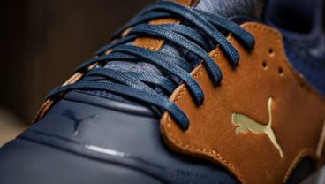 Puma Golf IGNITE CAGED CRAFTED footwear close look from the top
