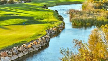 The Lakes is one of two course designed by Greg Norman at Lumine Golf Club