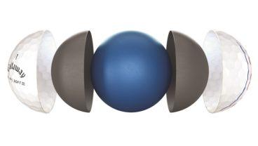 Callway Golf ERC Soft golf ball technology image