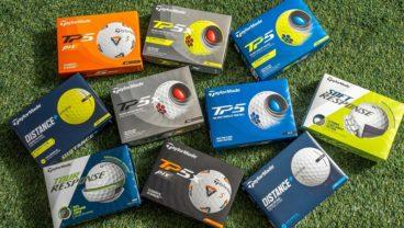 TaylorMade TP5 golf ball variations