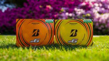 Special First Tee edition Bridgestone Golf e6 golf balls