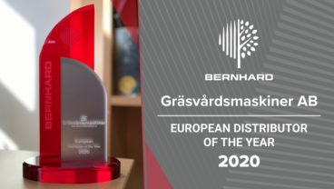 Bernhard and Company-European Distributor of the year 2020