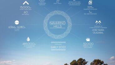 Navarino Hills at Costa Navarino fact sheet inforgraphics