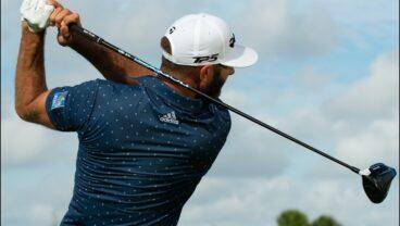 LA Golf Dustin Johnson