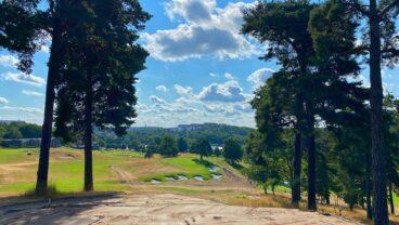 Stockholms Golfklubb golf course fairway view