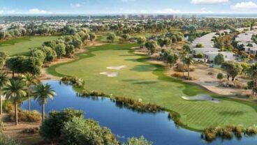 Yas Acres golf course in the future