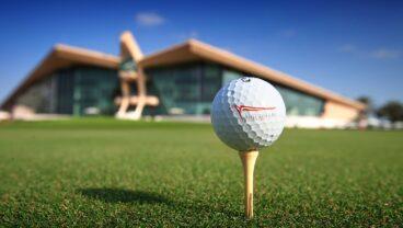 Abu Dhabi Golf Club clubhouse