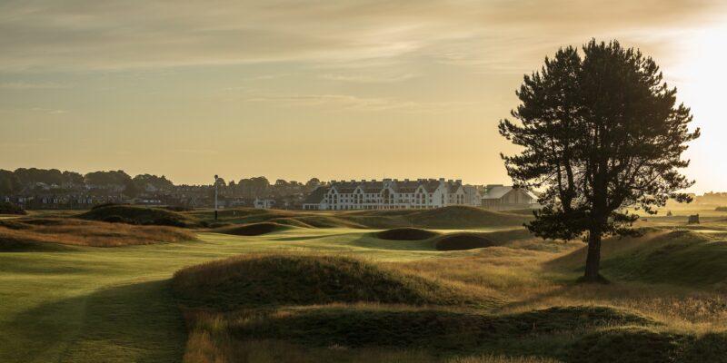 Carnoustie Golf Links 10 hole championship golf course
