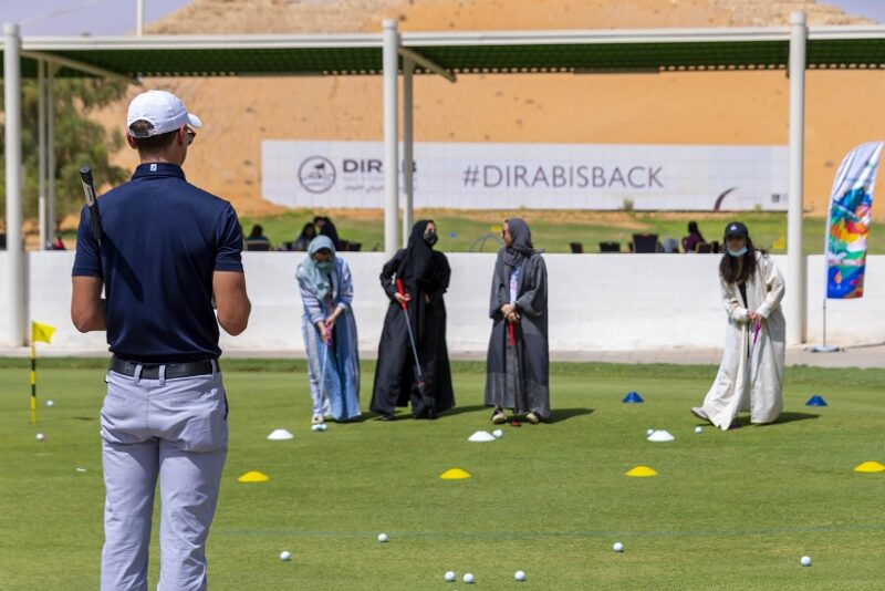 Dirab Golf & Country Club women players